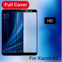 Shopkaki Xiaomi Mi A2 Screen Protector Full Cover 5D MiA2 Tempered Glass