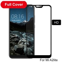Shopkaki Xiaomi Mi A2 Lite Screen Protector Full Cover Glass 5D MiA2Lite Tempered Glass