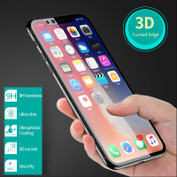 Shopkaki Apple iPhone XS Max Screen Protector Soft Curve Edge Tempered Glass (Premium)