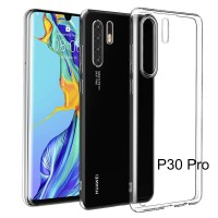 Shopkaki Huawei P30 Pro Transparent Casing Clear Case Cover (High Quality)