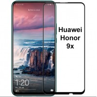 Shopkaki Huawei Honor 9X Tempered Glass Full Glass Screen Protector