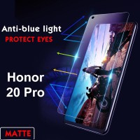 Shopkaki Honor 20 Pro Matte Anti Fingerprint Tempered Glass with Anti Blue Light Protection Screen Protector