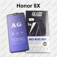 Shopkaki Honor 8X Matte Anti Fingerprint Tempered Glass with Anti Blue Light Protection Screen Protector