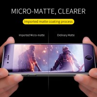 Shopkaki Xiaomi Redmi Note 8 Matte Anti Fingerprint Tempered Glass with Anti Blue Light Protection Screen Protector