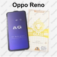 Shopkaki Oppo Reno 6.4 inch Matte Anti Fingerprint Tempered Glass with Anti Blue Light Protection Screen Protector