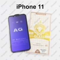 Shopkaki iPhone 11 Matte Anti Fingerprint Tempered Glass with Anti Blue Light Protection Screen Protector