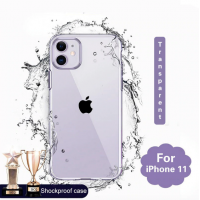Shopkaki Apple iPhone 11 Transparent Casing / Clear Case (Simple and Quality)