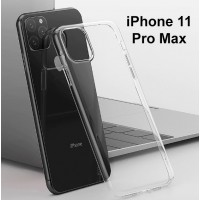 Shopkaki Apple iPhone 11 Pro Max Transparent Casing / Clear Case (Simple and Quality)
