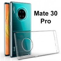 Shopkaki Huawei Mate 30 Pro Transparent Casing / Clear Case (Simple and Quality)