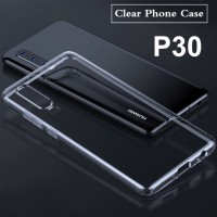 Shopkaki Huawei P30 Transparent Casing / Clear Case (Simple and Quality)