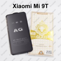 Shopkaki Xiaomi Mi 9T Matte Anti Fingerprint Tempered Glass Screen Protector