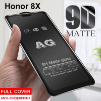Shopkaki Huawei Honor 8x Matte Anti Fingerprint Tempered Glass Screen Protector