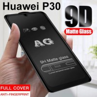 Shopkaki Huawei P30 Matte Anti Fingerprint Tempered Glass Screen Protector