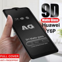 Shopkaki Huawei Y6P Matte Anti Fingerprint Tempered Glass Screen Protector