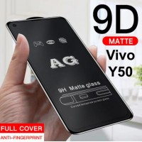 Shopkaki Vivo Y50 Matte Anti Fingerprint Tempered Glass Screen Protector