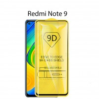 Shopkaki Xiaomi Redmi Note 9 Tempered Glass Full Glass Screen Protector