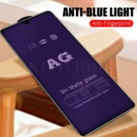 Shopkaki iPhone XS Matte Anti Fingerprint Tempered Glass with Anti Blue Light Protection Screen Protector