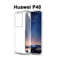 Shopkaki Huawei P40 Transparent Casing Clear Case Cover (High Quality)
