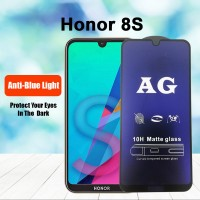 Shopkaki Honor 8S Matte Anti Fingerprint Tempered Glass with Anti Blue Light Protection Screen Protector