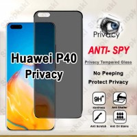Shopkaki Huawei P40 Privacy Tempered Glass / Anti Spy Screen Protector