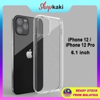Shopkaki Apple iPhone 12 / iPhone 12 Pro 6.1 Inch Transparent Casing / Clear Case (Simple and Quality)