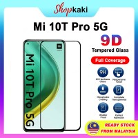 Shopkaki Xiaomi Mi 10T Pro 5G Tempered Glass Full Glass Screen Protector