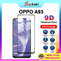 Shopkaki Oppo A93 Tempered Glass Full Glass Screen Protector