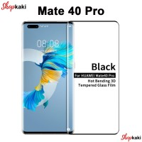 Shopkaki Huawei Mate 40 Pro Screen Protector Full Cover Tempered Glass